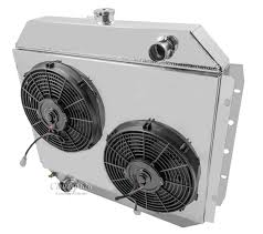 electric radiator fans and shrouds ford bronco radiator aluminum 4 row chion shroud 2 12 fans