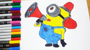 coloring pages minions despicable me coloring book learning