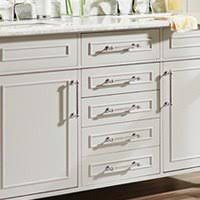 Low Profile Cabinet Pulls Finger Pull Drawer Pulls Cabinet Hardware The Home Depot