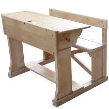 bureau enfant en bois vintage pupitre meuble pour enfants mie troline