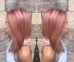rose gold lowlights on dark hair 40 hair color ideas that are perfectly on point