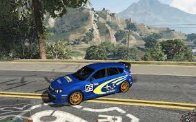 rally subaru subaru world rally team livery gta5 mods com