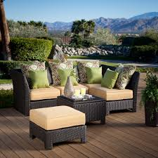 White Wicker Patio Chairs Patio Winsome Brown Rattan With Yellow Cuhsion Wicker Patio Set
