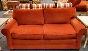 Orange Sofa Chair Living Room Magnificent Stars Ethan Allen Bennett Sofa Infamous