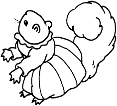 squirrel coloring pages 718 957 kids coloring pages printable