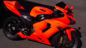Orange Paint by Kawasaki Zx6r 636 Orange Neon Paint Youtube