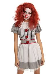 scary clown costumes scary clown costume dress hot topic