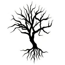 tree of designs black tree design tattoowoo