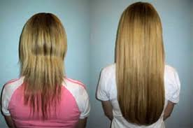 thin hair after extensions hair extensions before and after
