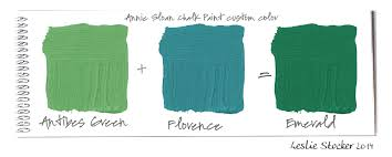 green with envy colorways with leslie stocker