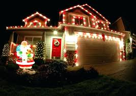 Outdoor White Christmas Lights Great Red And On Home Decoration Led