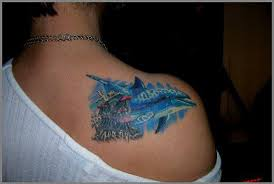 right back shoulder dolphin for