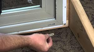How To Fix A Patio Door How To Replace The Weep Covers On A Premium Vinyl Patio Door