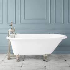 cordial cast iron french bateau clawfoot bathtub cast iron french