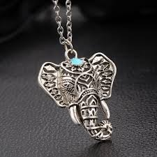necklace boho images Boho elephant charm necklace boho fairy jpg