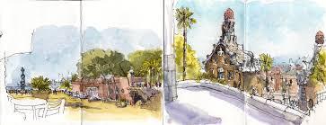 glwsketchworks gaudi sketchbook sketches