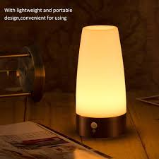retro night light wireless pir and motion sensor 3 mode led lamp