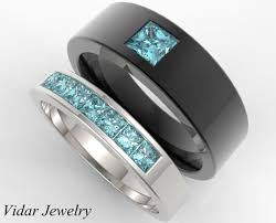 wedding bands for him and unique matching wedding bands for his and hers vidar jewelry