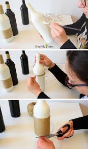 diy glass bottle home decor u2013 3 simple ideas creativity hero