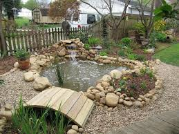 Is A Backyard Pond An Ecosystem Lawn Ponds Patio Ponds Goldfish Ponds Waterfalls Plantainers
