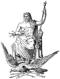 imagenes de zeus para dibujar faciles los gigantes en la mitología griega el pensante