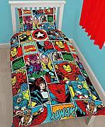 Marvel Double Duvet Cover Buy Marvel Bedding Online Lionshome