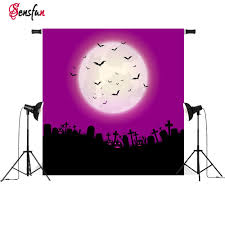 halloween background with purple online buy wholesale photography background graveyard from china