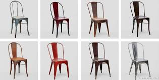 chaise a chaise a tolix free chaise tolix xavier pauchard style mtal acier