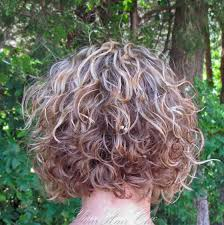 perm for grey hair fascinating short hairstyle with blonde curls perm image of for