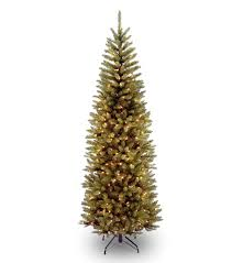 7ft pre lit kingswood fir pencil artificial tree