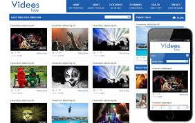 templates for video website videostube video gallery mobile website template by w3layouts