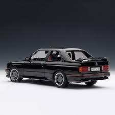 Bmw M3 Sport - bmw e30 m3 sport evolution black autoart touch of modern