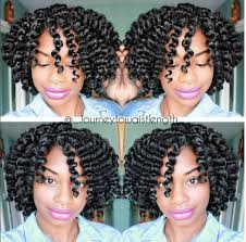stranded rods hairstyle the most defined flexi rod set curls