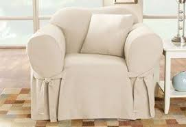 Slipcover Chair And Ottoman Slipcovers For Club Chairs Foter