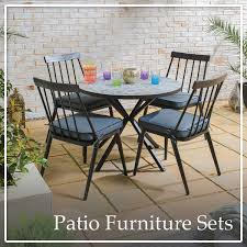metal patio table and chairs garden furniture patio sets the range