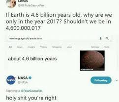 Memes In Text Form - dopl3r com memes lewis igpolarsaurusrex if earth is 4 6