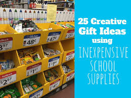 25 Creative Gift Ideas That 25 Creative Gift Ideas Made With Cheap School Supplies The
