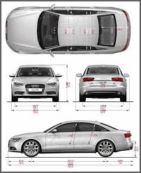dimension audi a6 2012 audi a6 cool