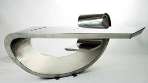 Desk Modern Pablura Tops Design Max Ingrand Desk Desk Modern Steel
