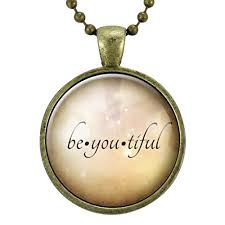inspirational jewelry gifts be you tiful necklace motivational gifts for women