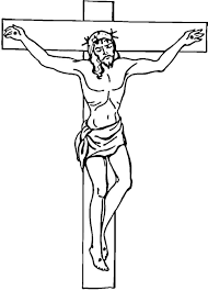 religious coloring pages jesus cross coloringstar