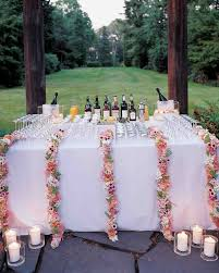 drink table your wedding food and drink etiquette questions answered martha