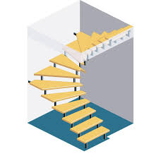 halbgewendelte treppe konstruieren treppe berechnen selbst de