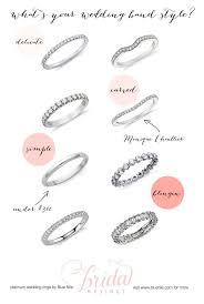 wedding ring types wedding ring types best 25 wedding band styles ideas on