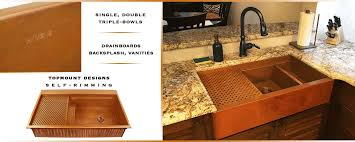usa made kitchen faucets usa copper sinks for kitchen bath bar havens metal