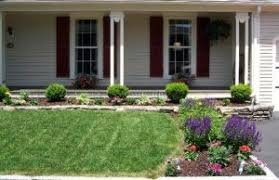 architecture landscape around trees tree ring front yards yard