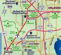 map of kissimmee map for discount orlando villas disney area villas pool villas