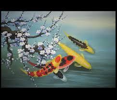 prints modern wall art decor koi fish paintings canvas prints modern wall art decor koi fish paintings