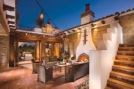 Spanish Revival House Plans by Palm Springs Homes Luxury Real Estate