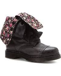 womens boots dr martens savings on dr martens triumph 1914 14 eye floral print s